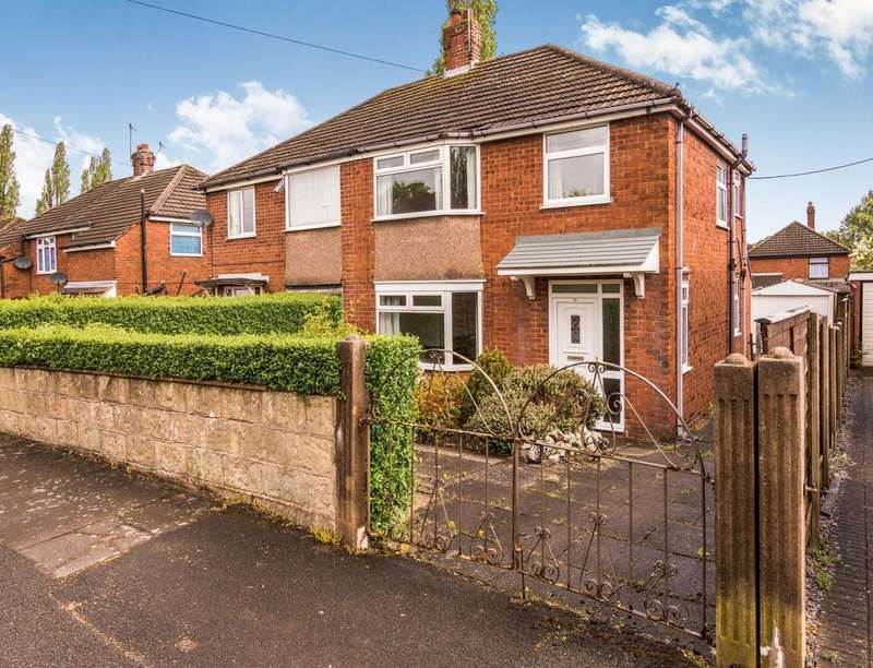 3 Bedrooms Semi Detached House for sale in Cookson Avenue, Dresden, Stoke-On-Trent, ST3