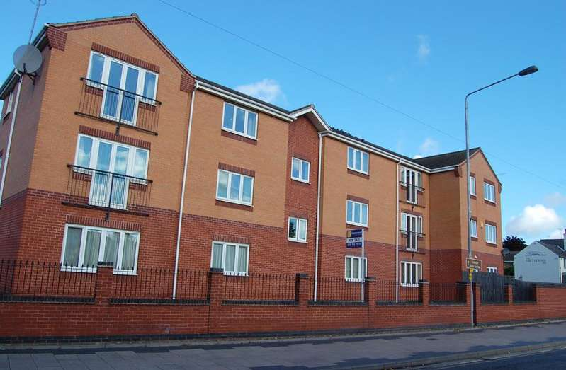 2 Bedrooms Flat for sale in TURTON DRIVE, ARNOLD, NOTTINGHAM NG5