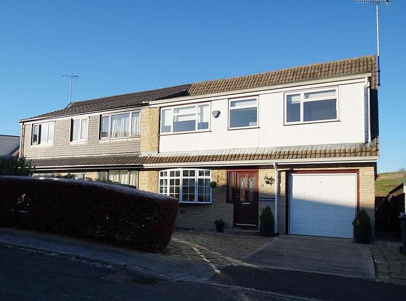 4 Bedrooms Semi Detached House for sale in Sevenacres, Delph OL3