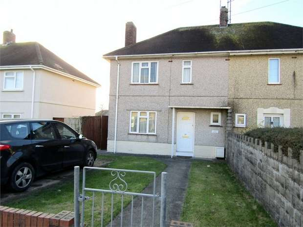 2 Bedrooms Semi Detached House for sale in Amanwy, Llanelli, Carmarthenshire