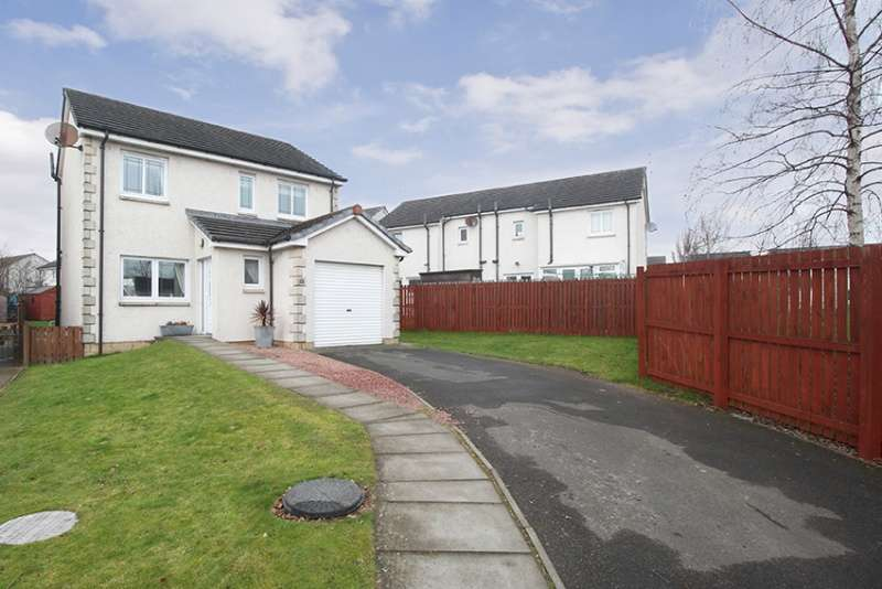 3 Bedrooms Detached House for sale in Bellevue Park, Alloa, Clackmannanshire, FK10 1LB