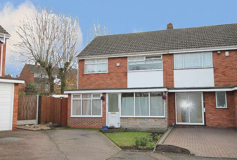 3 Bedrooms Semi Detached House for sale in Longfield Close, Amington, Tamworth, B77 3BJ
