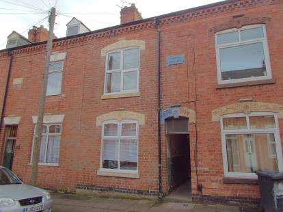4 Bedrooms Terraced House for sale in Myrtle Road, Leicester