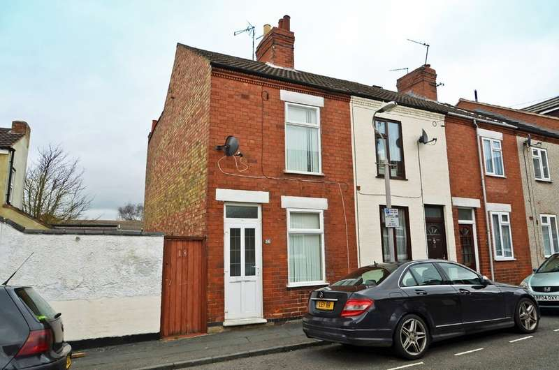 2 Bedrooms End Of Terrace House for sale in Duke Street, Rugby