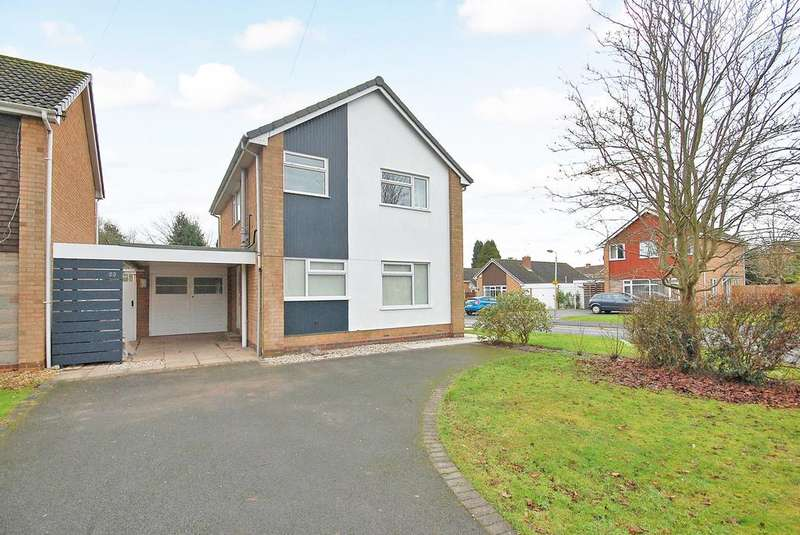 3 Bedrooms Detached House for sale in Redhouse Road, Tettenhall, WOLVERHAMPTON WV6