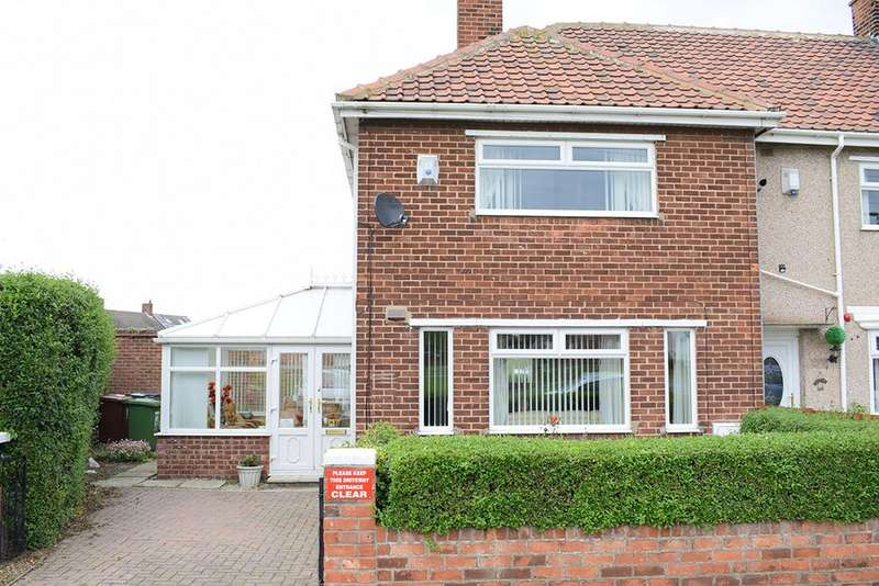 2 Bedrooms Semi Detached House for sale in Westview Road, Hartlepool TS24