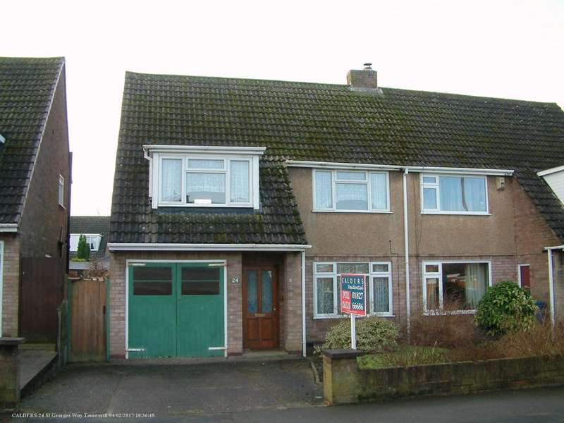 3 Bedrooms Semi Detached House for sale in St. George's Way, Glascote, B77 3HG