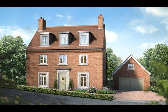5 Bedrooms Detached House for sale in Kings Drive, Midhurst, West Sussex GU29