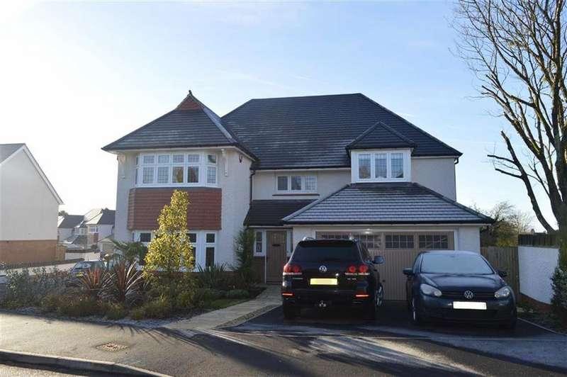 4 Bedrooms Detached House for sale in Kilfield Road, Bishopston, Swansea