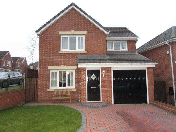 3 Bedrooms Detached House for sale in BECKWITH CLOSE, KIRK MERRINGTON, SPENNYMOOR DISTRICT