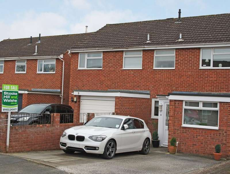 3 Bedrooms Terraced House for sale in Haston Close, Three Elms, Hereford, HR4