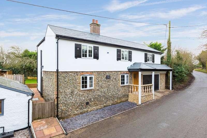 4 Bedrooms Detached House for sale in REDHILL, Rushden, Buntingford, SG9