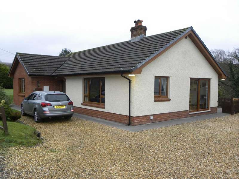 3 Bedrooms Detached Bungalow for sale in Ceunant, Llanllwni, Llanybydder, SA40