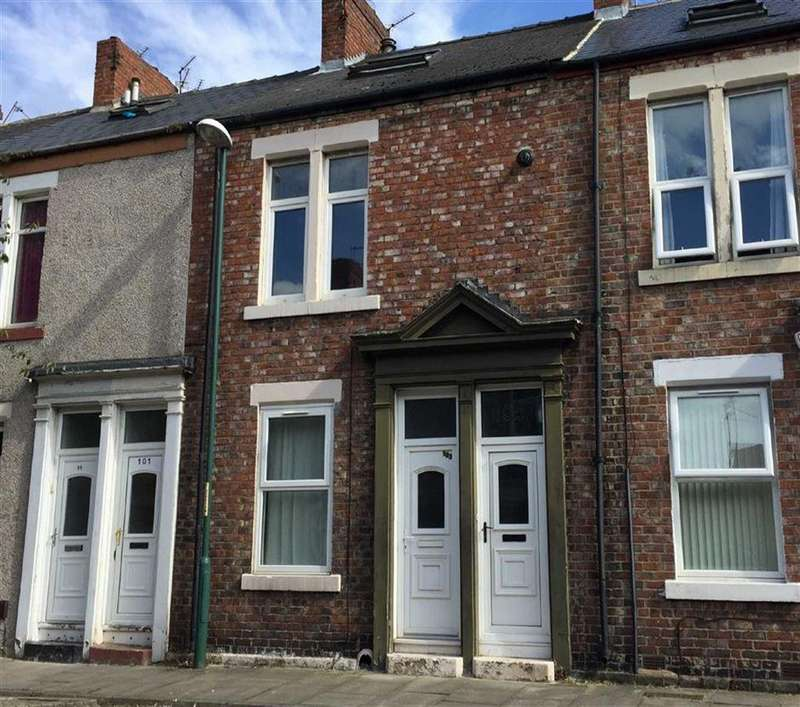 2 Bedrooms Maisonette Flat for sale in Marshall Wallis Road, South Shields