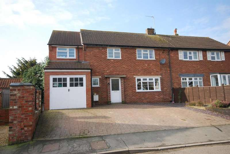 4 Bedrooms Semi Detached House for sale in Boyers Orchard, Harby, Melton Mowbray