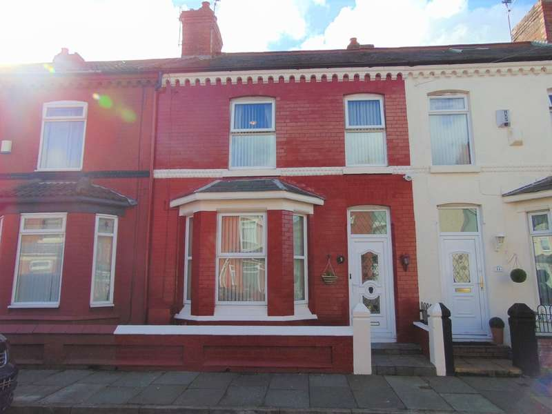 3 Bedrooms Terraced House for sale in Woodford Road, New Ferry