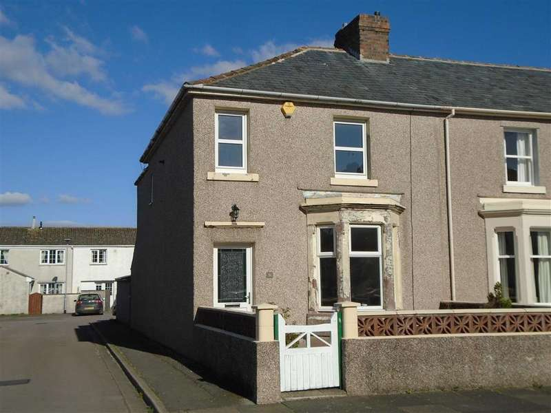 3 Bedrooms End Of Terrace House for sale in Waver Street, Silloth