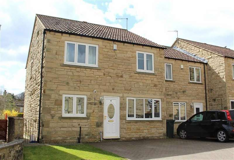 4 Bedrooms Semi Detached House for sale in The Paddock, Startforth, County Durham