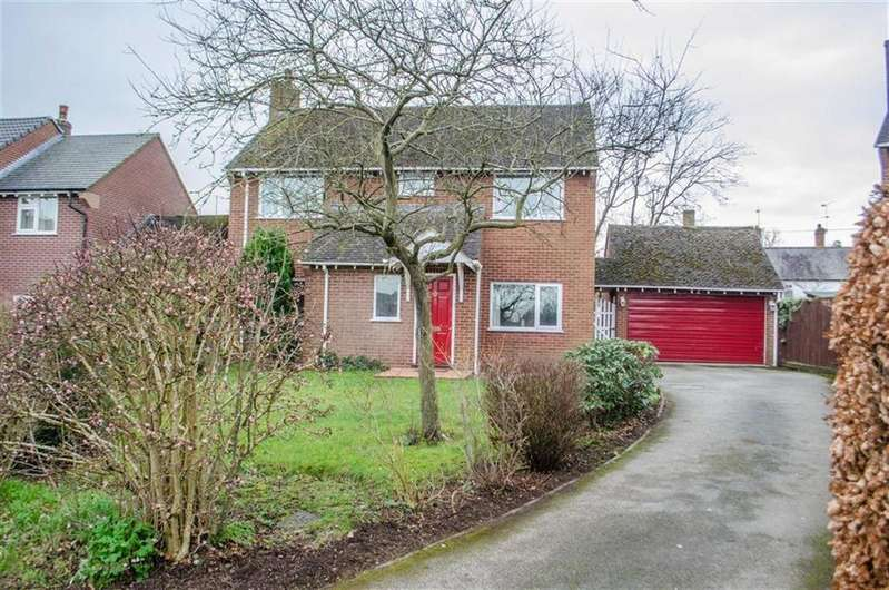 4 Bedrooms Detached House for sale in Old Stack Yard, Great Barrow, Chester, Chester