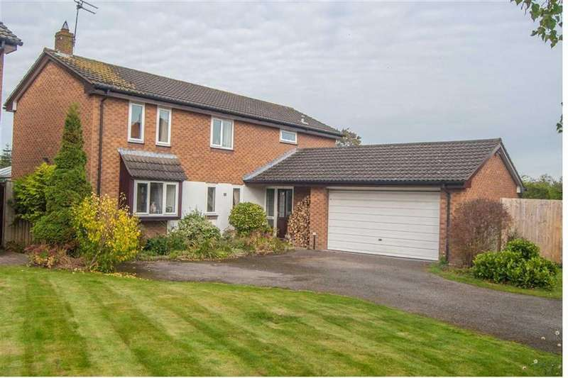 4 Bedrooms Detached House for sale in Church Croft, Dodleston, Chester, Chester