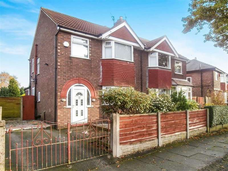 3 Bedrooms Semi Detached House for sale in Ciss Lane, Urmston