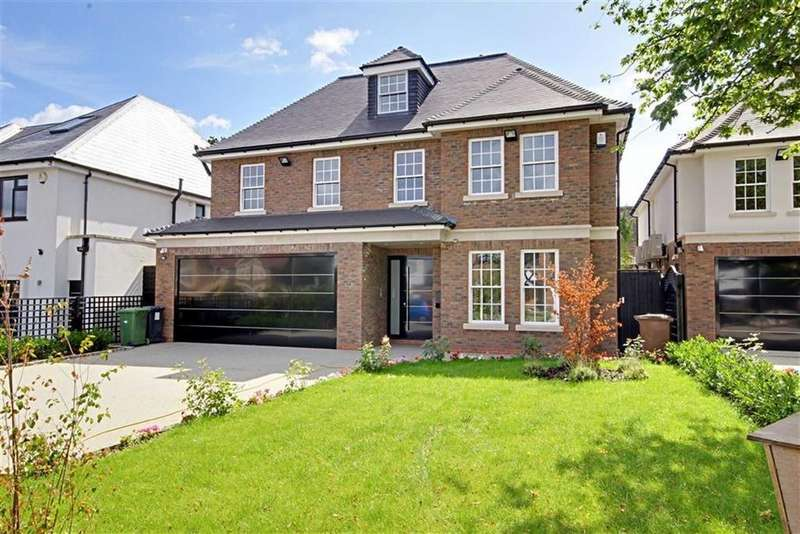 6 Bedrooms Detached House for sale in Barham Avenue, Elstree, Hertfordshire