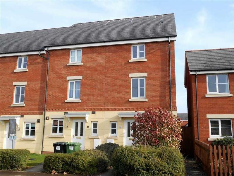 4 Bedrooms End Of Terrace House for sale in Staddlestone Circle, Hereford