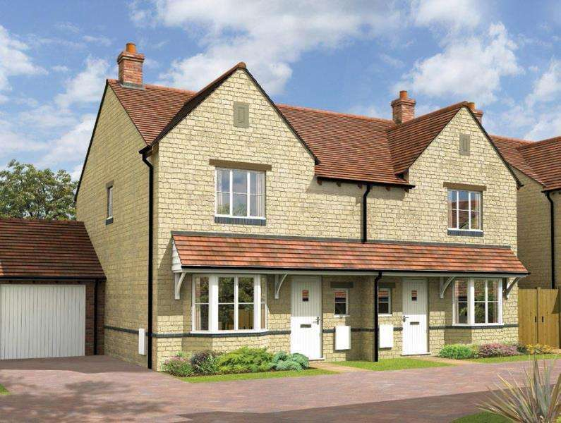 3 Bedrooms Semi Detached House for sale in Beechwood, Marlborough Place, Woodstock, Oxfordshire