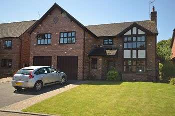 5 Bedrooms Detached House for sale in Chartwell Park, Sandbach, Cheshire, CW11 4ZP
