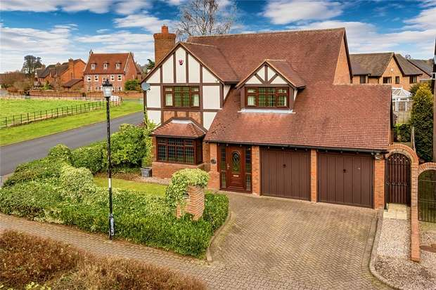4 Bedrooms Detached House for sale in 1 Eider Drive, Apley, Telford, Shropshire