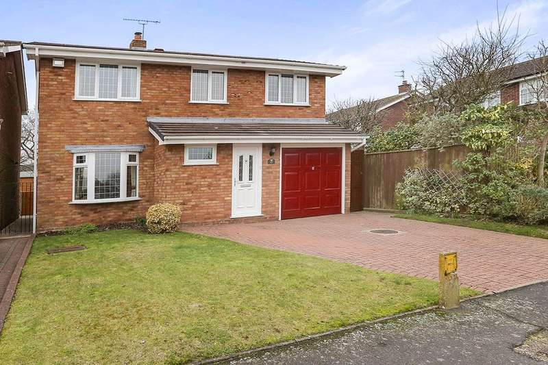 4 Bedrooms Detached House for sale in Dunster Grove, Wolverhampton, WV6