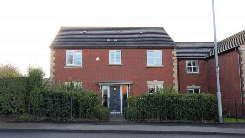 4 Bedrooms Detached House for sale in Melton Road, Asfordby Hill, LE14