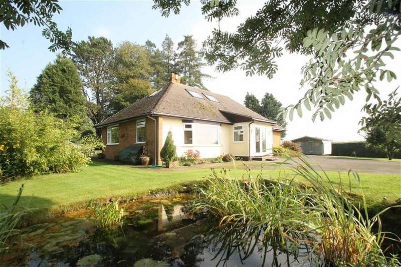4 Bedrooms Detached Bungalow for sale in Hill Top, Much Wenlock, Shropshire