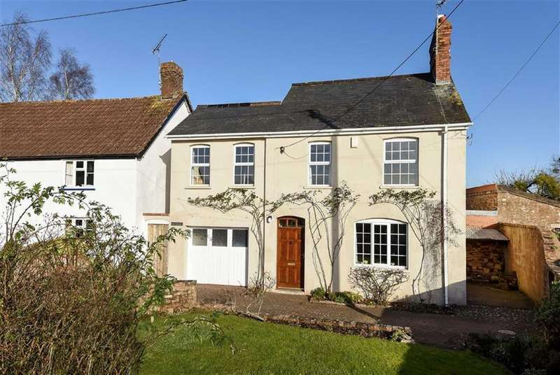 4 Bedrooms Detached House for sale in High Street, Milverton, Taunton, Somerset, TA4