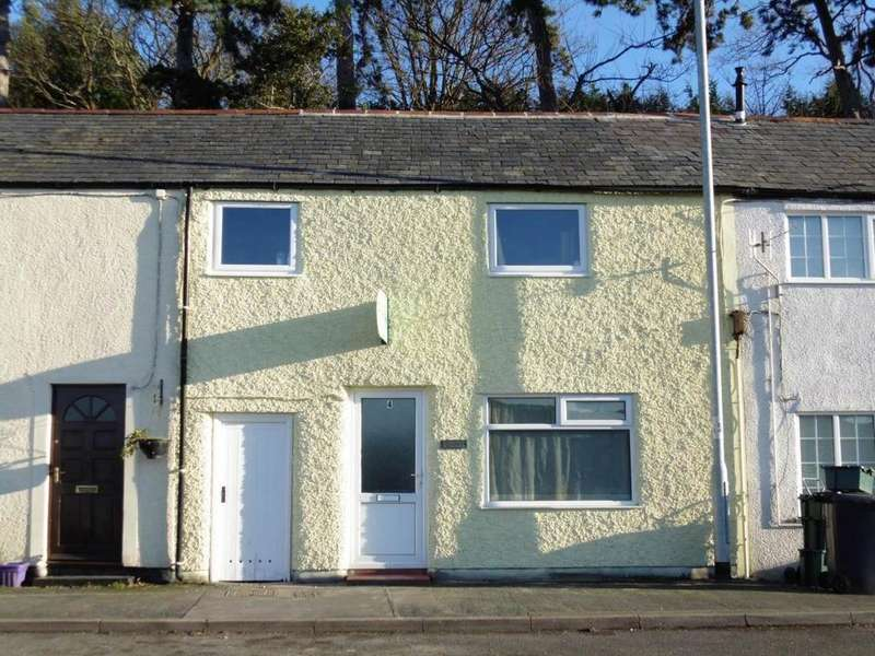 2 Bedrooms Terraced House for sale in 4 Sea View Terrace, Llansanffraid Glan Conwy, LL28 5SU