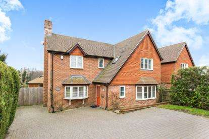 4 Bedrooms Detached House for sale in Ampfield, Romsey, Hampshire