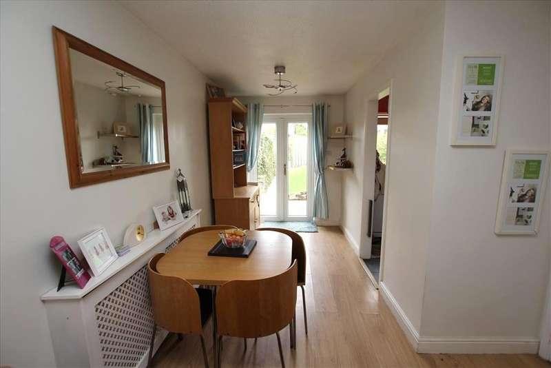 2 Bedrooms End Of Terrace House for sale in Downlands, BALDOCK, SG7