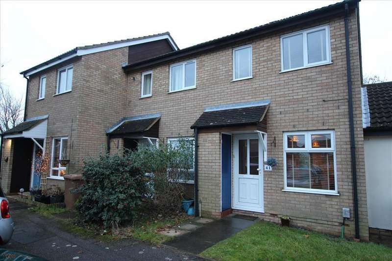 2 Bedrooms Terraced House for sale in Barley Rise, BALDOCK, SG7