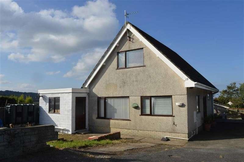 2 Bedrooms Detached Bungalow for sale in Rhyd Y Fenni, Crofty, Swansea