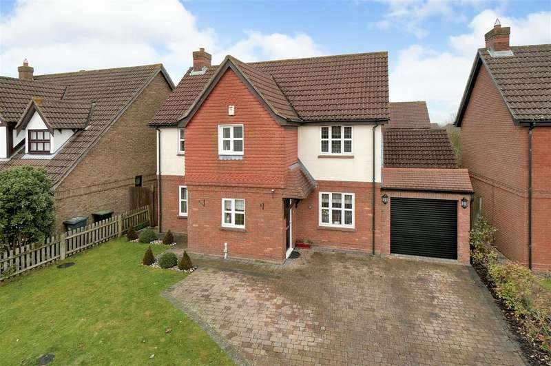 4 Bedrooms Detached House for sale in Russett Way, Kings Hill, ME19 4FJ