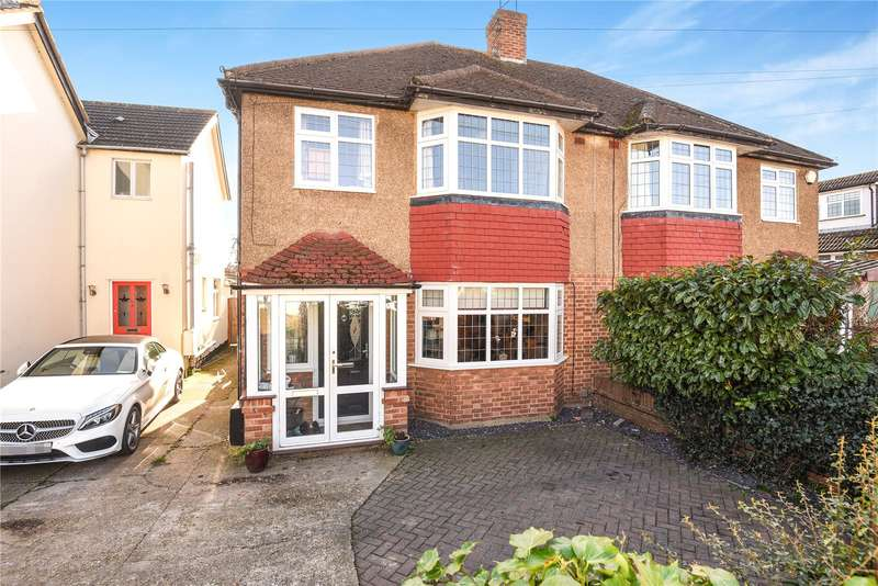 3 Bedrooms Semi Detached House for sale in Newtown Road, Denham, Uxbridge, Middlesex, UB9