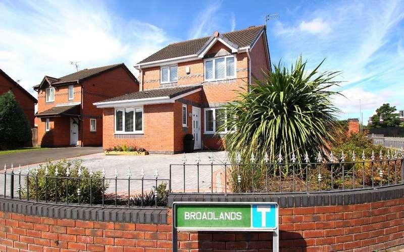 3 Bedrooms Detached House for sale in Broadlands