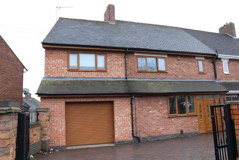 5 Bedrooms Semi Detached House for sale in Parkfield Crescent, Tamworth