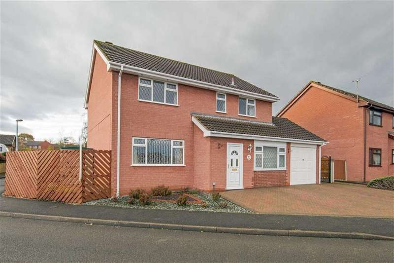 4 Bedrooms Detached House for sale in Hazelwood Crescent, Hawarden, Deeside, Flintshire