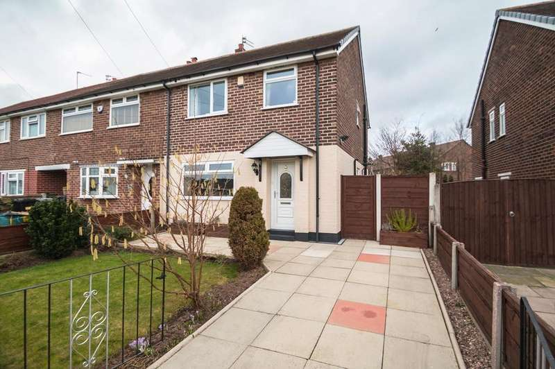 3 Bedrooms Semi Detached House for sale in Irlam Road, Flixton, Manchester, M41