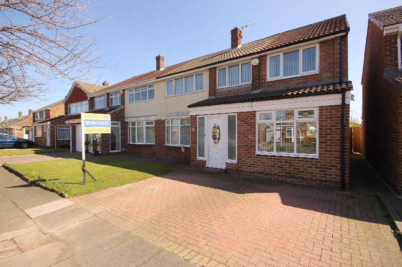 4 Bedrooms Semi Detached House for sale in Lingdale Drive, Seaton Carew, Hartlepool