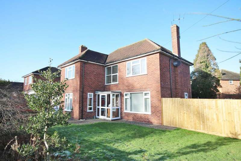 4 Bedrooms Detached House for sale in Winchester Avenue, Tupsley, Hereford, HR1