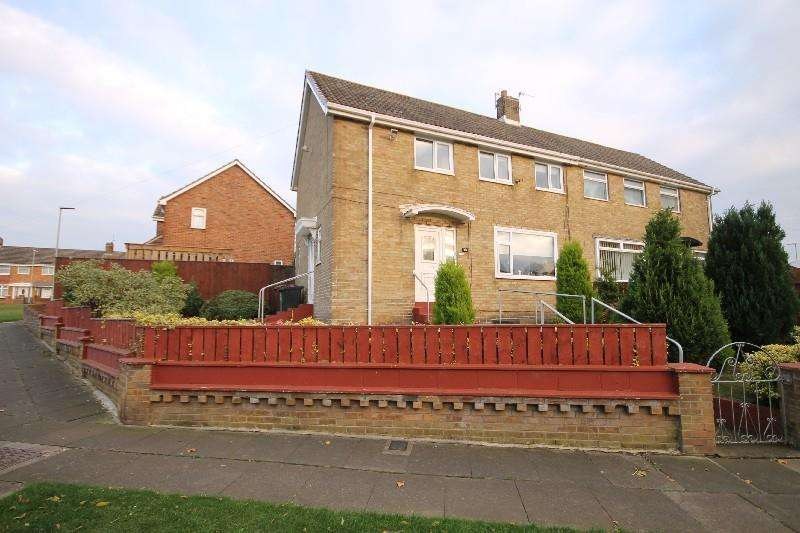 3 Bedrooms Semi Detached House for sale in Masefield Road, Hartlepool