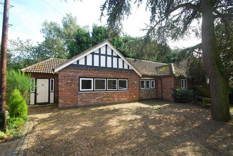 1 Bedroom Semi Detached Bungalow for sale in Croxall Road, Edingale, Staffordshire