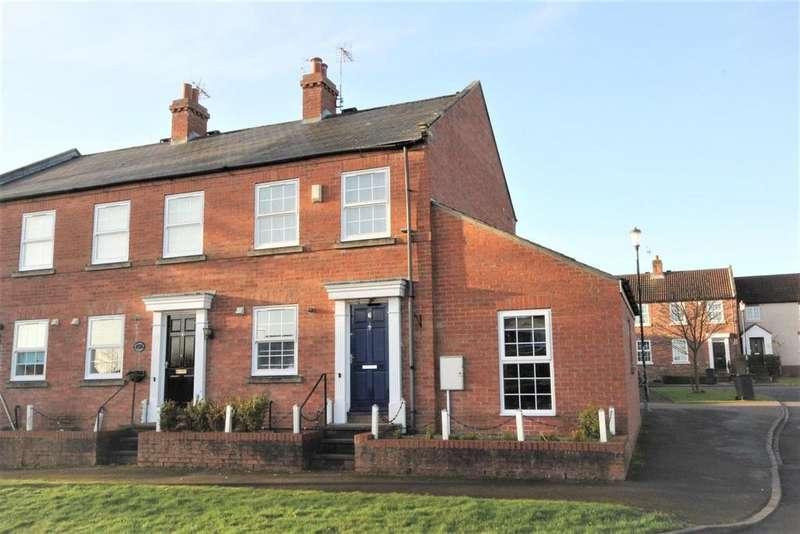 3 Bedrooms End Of Terrace House for sale in Garden Flats Lane, Dunnington, York, YO19